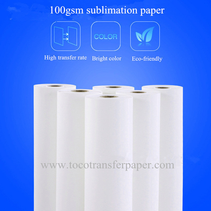 100gsm Dye Sublimation Paper - shanghai Toco digital
